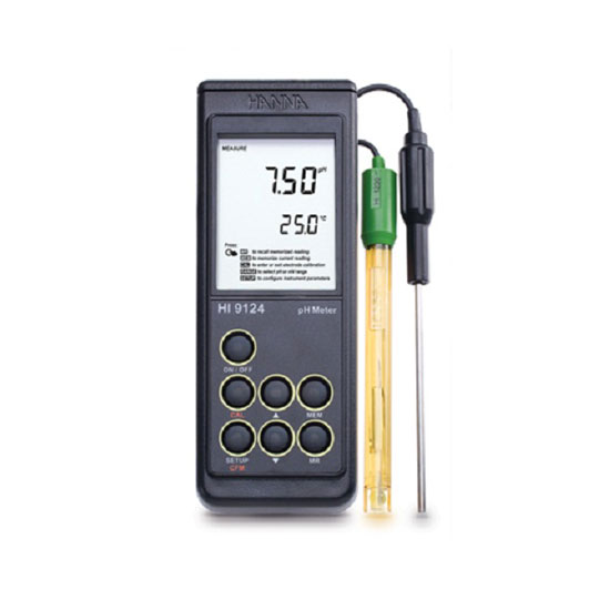 Máy Đo pH Cầm Tay l Trọng lượng: 300g