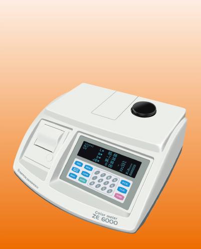 Máy đo màu ZE 6000 | Xuất xứ: Nhật