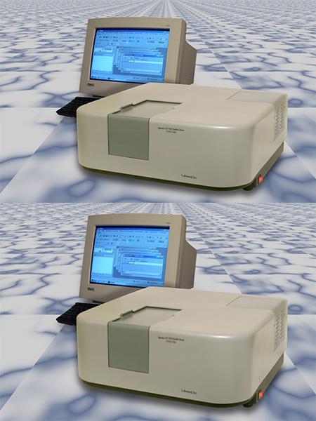 Máy quang phổ khả kiến (hai chùm tia) UVD-3500