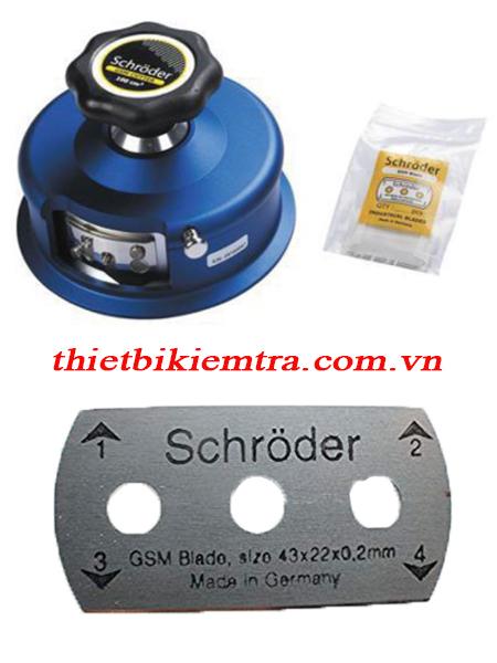 Máy cắt mẫu kiểu tròn Schroder GSM-100