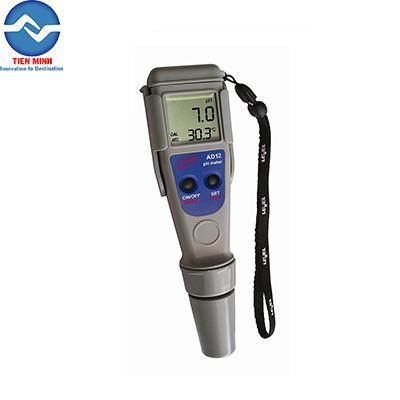 Máy đo pH và nhiệt độ dạng bút AD12