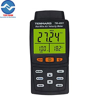 Máy đo tốc độ gió và lưu lượng đường ống TM-4001