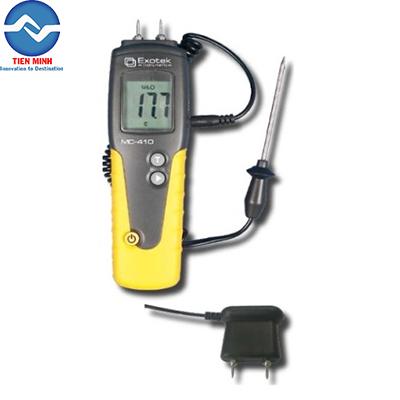 Máy đo độ ẩm gỗ dạng kim MC-410 Exotek