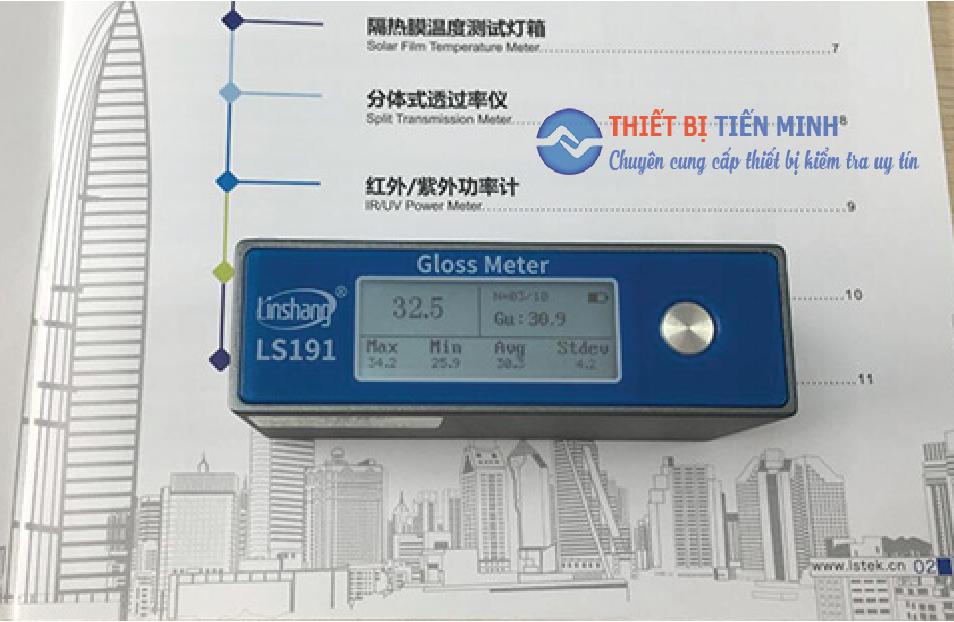 Máy đo độ bóng giấy