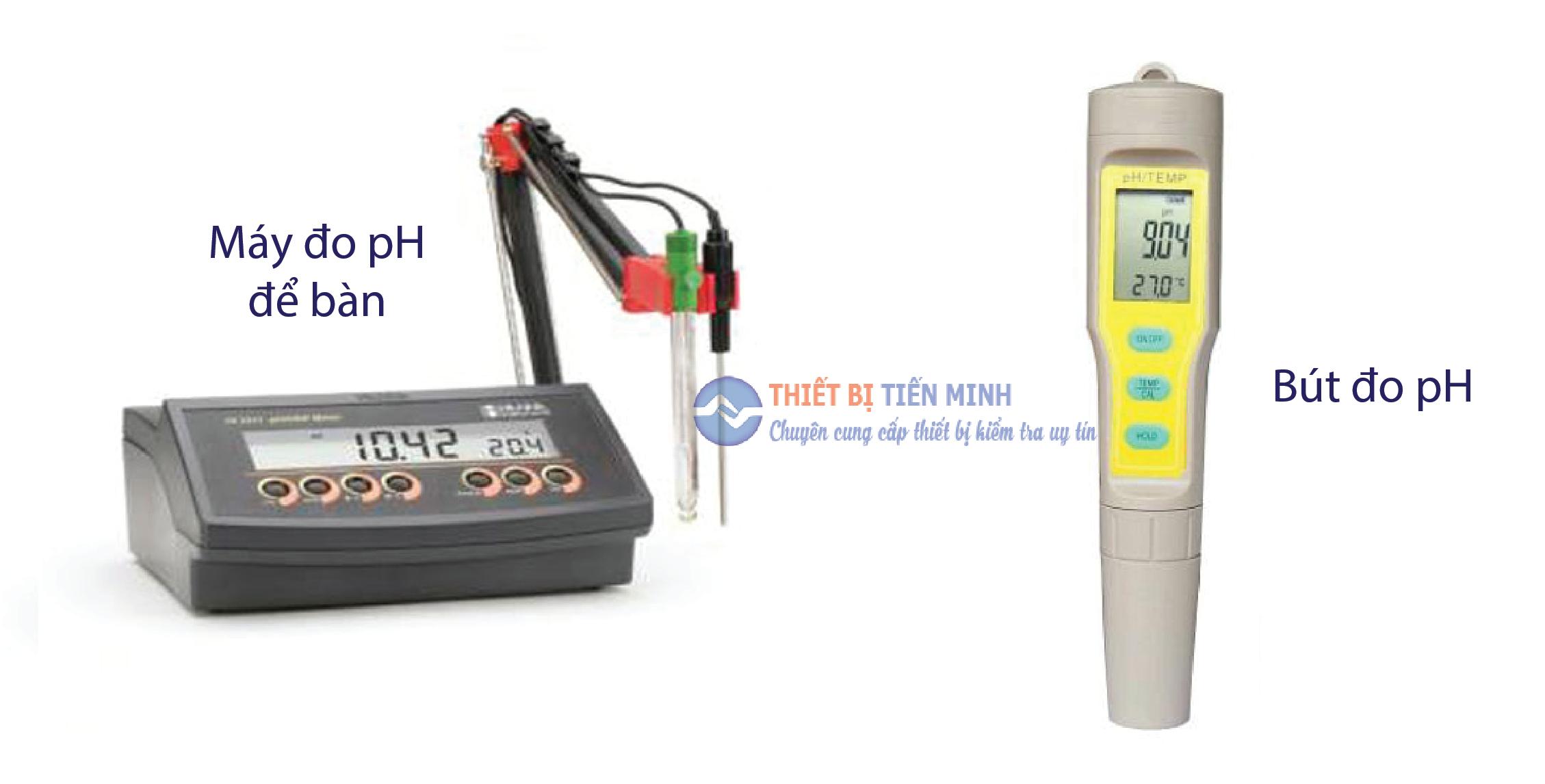 Máy đo pH phân loại dựa trên tính di động