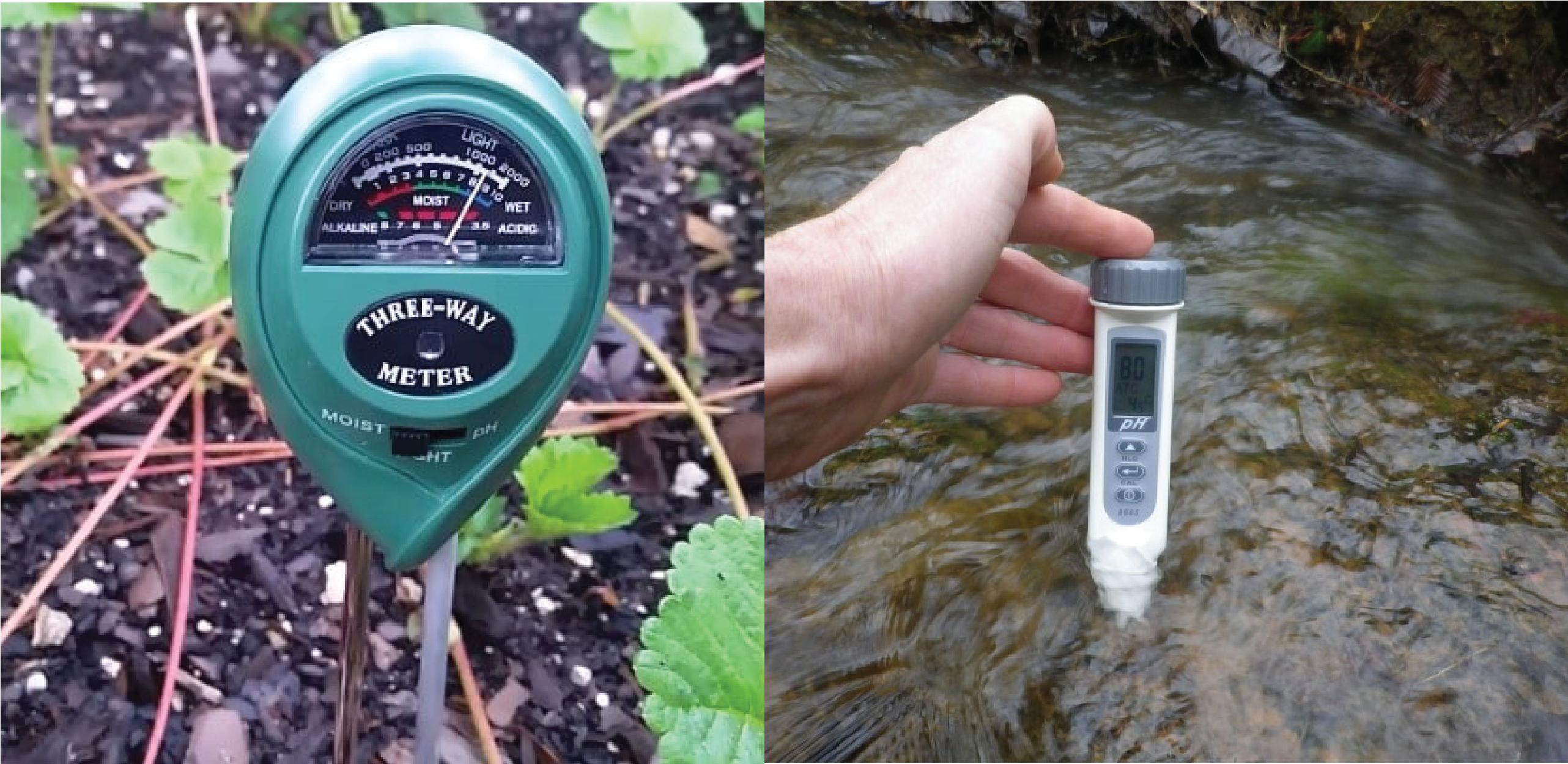 Máy đo pH đất, nước