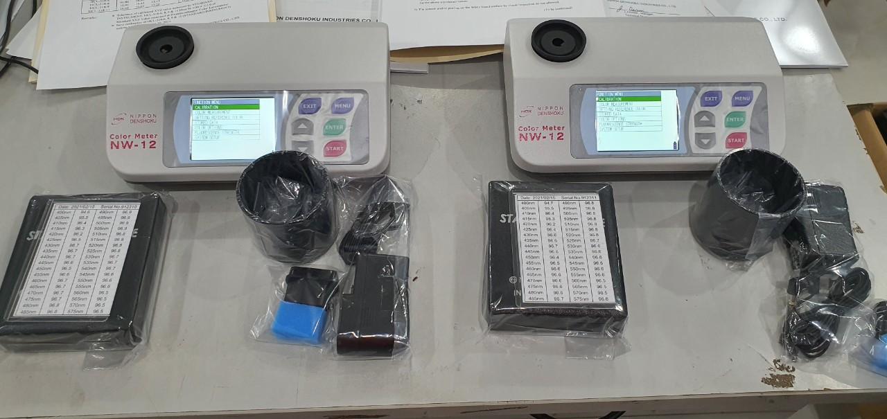 máy đo độ trắng NW12