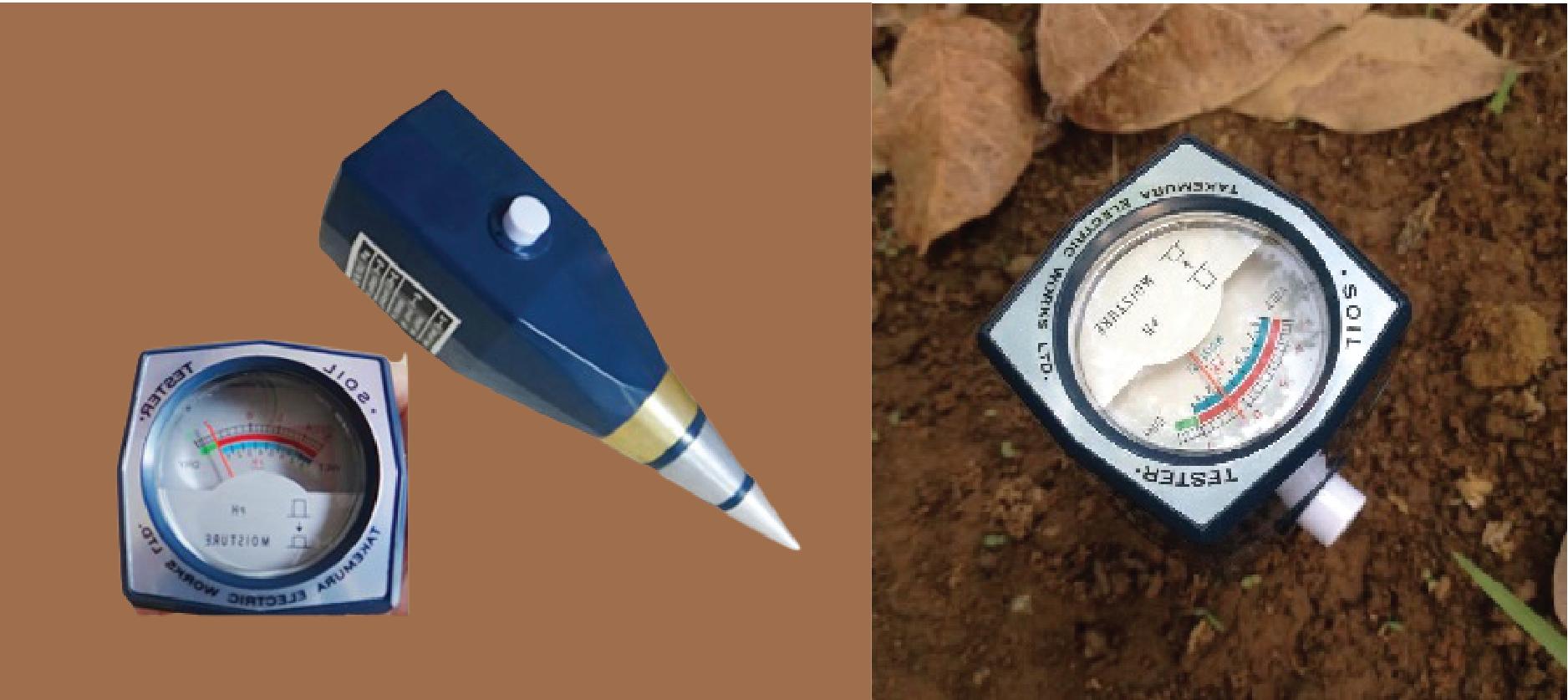 Máy đo pH trong đất Takemura
