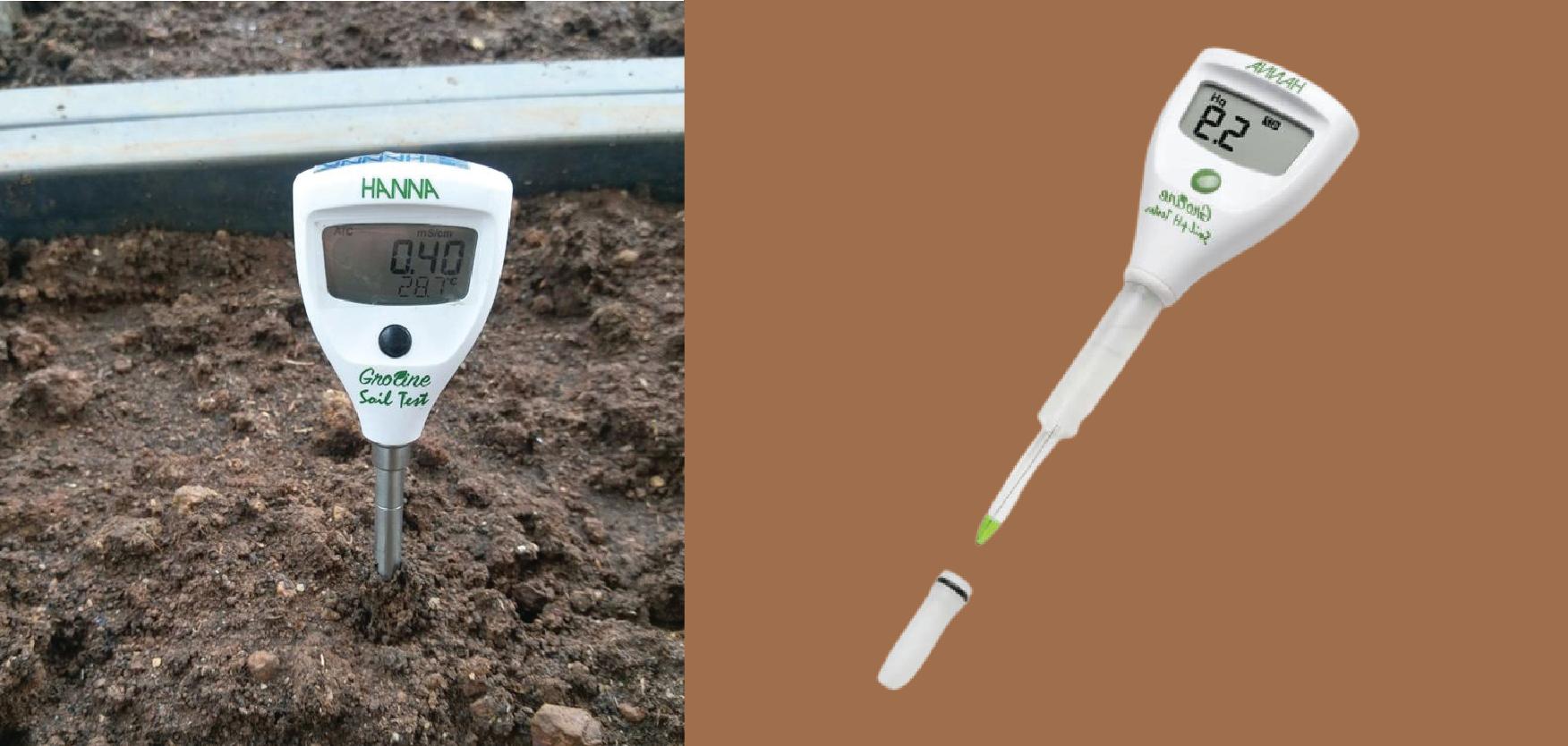 Máy đo pH trong đất Hanna