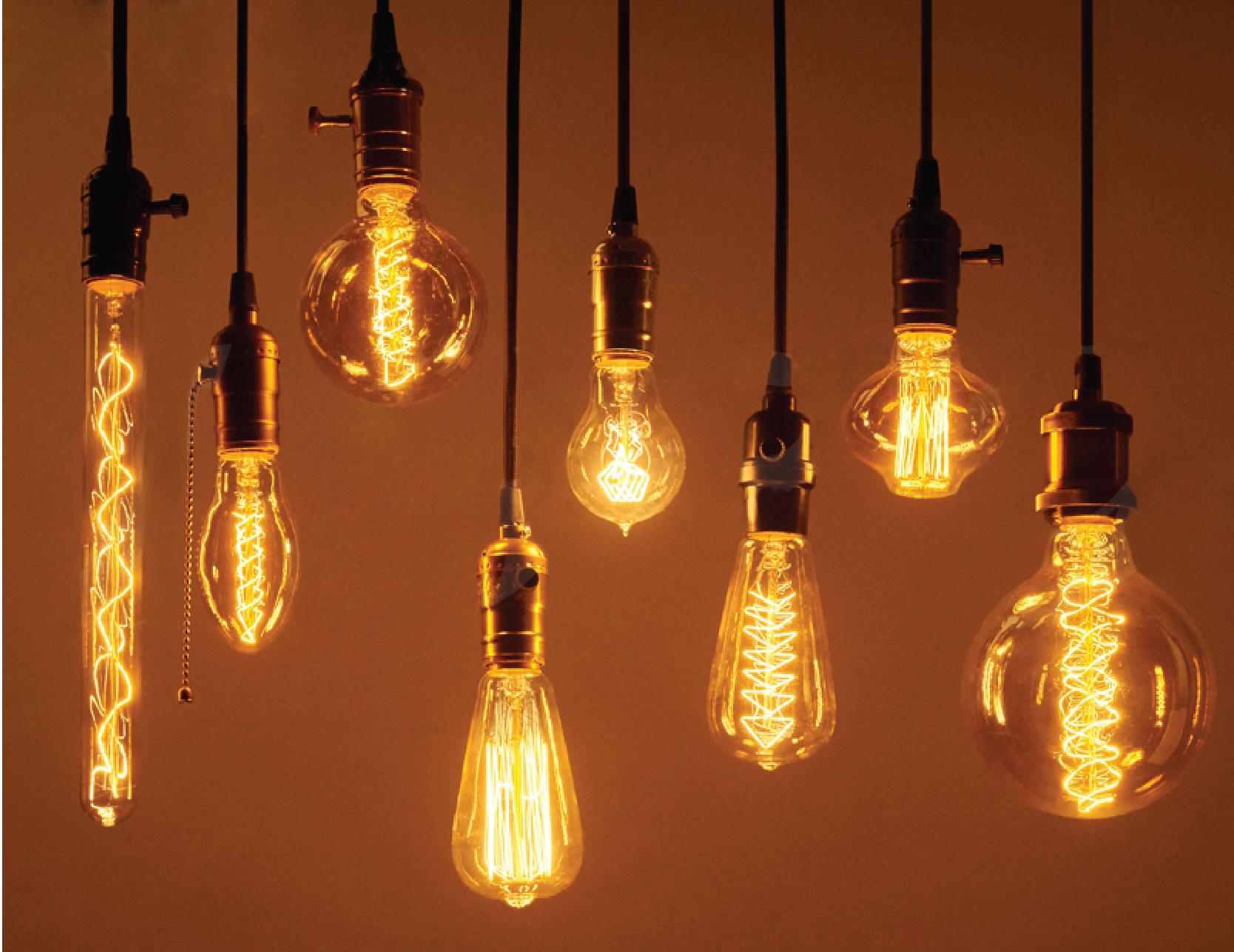 Ứng dụng nhiệt độ nóng chảy để sản xuất bóng đèn